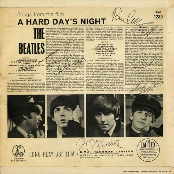 Beatles Autographs We Buy Beatles Autographs