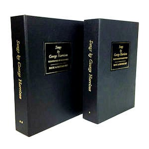 Genesis Publications Songs By George Harrison Volumes 1 And 2 Book