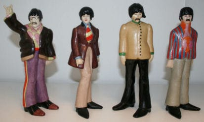 A Set Of Beatles German Goebels