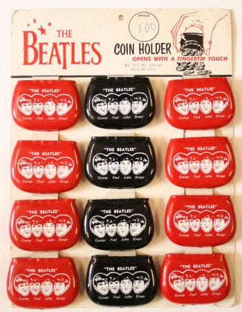 The Beatles Coin Holder Display