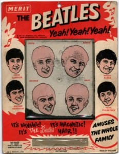Beatles Magnetic Hair Game.