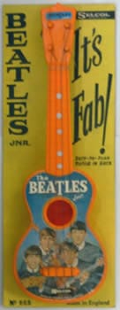 Beatles Selcol Junior Guitar. Still in original packaging