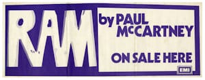Paul McCartney promotional poster
