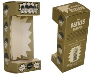 The Beatles Shampoo Box