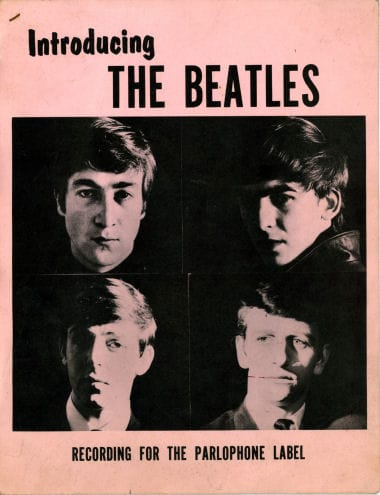 The Beatles Parlophone 1963 Press Kit