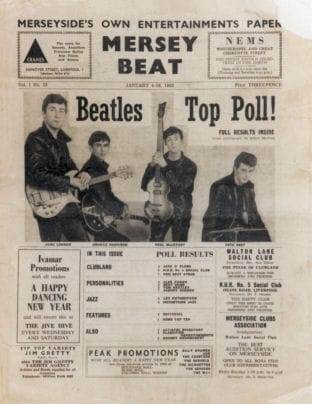 Mersey Beat Volume 1 Number 13 1962