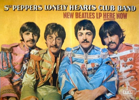 Sgt Pepper UK Promotional Poster
