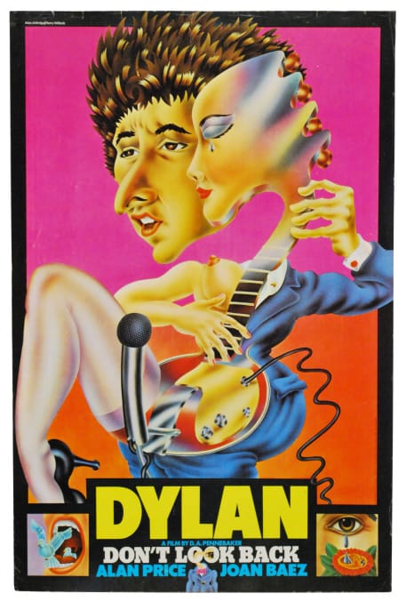 Bob Dylan Promotional Posters