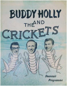 Buddy Holly Concert Programmes
