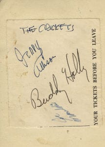 Buddy Holly Autographs 4