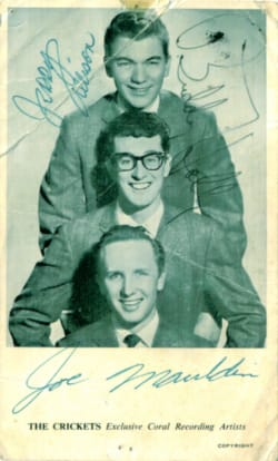 Buddy Holly Autographs 1
