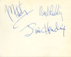 The Jimi Hendrix Experience Signatures 1
