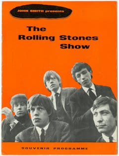 Rolling Stones 1960s Programme - The RollingStones Show