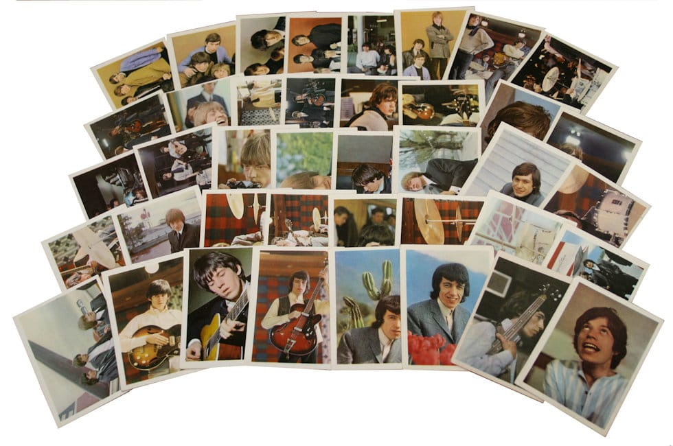 The Rolling Stones Trading Cards