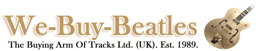 We buy beatles and rock memorabilia logo