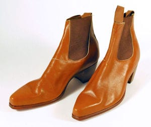 The Who John Entwistle Owned Leather Boots
