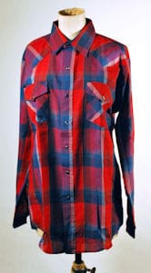 The Who John Entwistle Owned Check Shirt