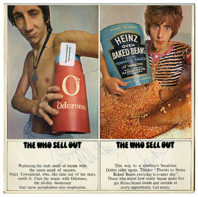 The Who Sell Out Signed Album
